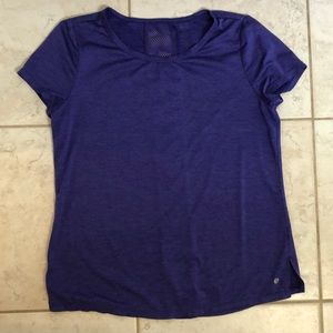 Tops - Purple Dry-fit Athletic Tee